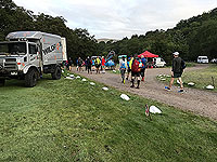 Glen Coe Marathon. Camp site