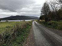 Loch Rannoch Marathon. Watch for the occaisional car