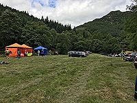 Ben Ledi. The hill race car park