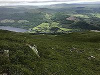 Ben Ledi. Loch Lubnaig below