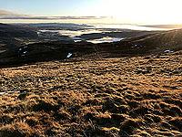 Ben Ledi. Not Loch Lubnaig, but looking east