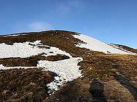 Ben Ledi. View uphill