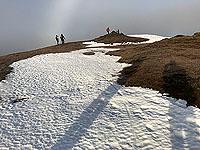 Ben Ledi. Winter morning at the top