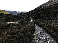 Ben Ledi. Once beyond a gate the path improves