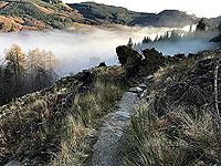 Ben Ledi. Sometimes the path is good