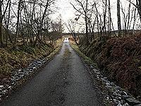 Killin - Lochan Breaclaich. Gradually gets steeper