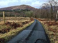 Killin - Lochan Breaclaich. Looking back downhill