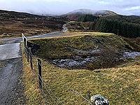 Killin - Lochan Breaclaich. Looking back down the road