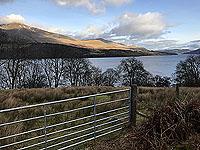Killin - Lochan Breaclaich. Looking north up the loch