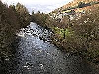 Killin - Lochan Breaclaich. View from the bridge