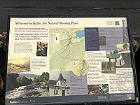 Killin - Lochan Breaclaich. Killin car park information sign