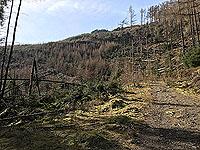 An Sidhean. The path remains steep