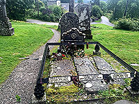 Lochs Voil and Doine. Rob Roy's grave. Small diversion needed.