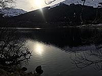 Lochs Voil and Doine. Western Loch Voil