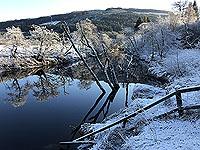 Lochs Voil and Doine. River Balvag