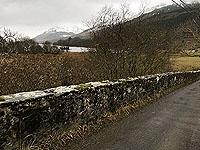 Lochs Voil and Doine. Approaching Balquidder