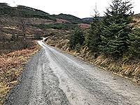 Aberfoyle past the tower. Image from Aberfoyle past the tower