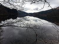 Kinlochard 5 lochs. Reflections
