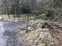 Kinlochard 5 lochs. In winter time