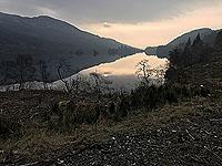 Kinlochard 5 lochs. Another winter morning