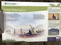Kinlochard 5 lochs. All about the queen