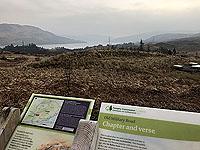 Kinlochard 5 lochs. View over Loch Arklet