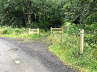 Kinlochard 5 lochs. In summer