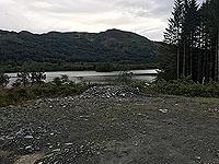 Kinlochard 5 lochs. Straight across the loch