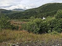 Kinlochard 5 lochs. Getting up the hill