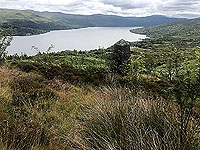 Kinlochard 5 lochs. Great view down the loch