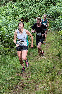 Aboyne games hill run. Approaching top of first hill