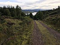 Past The Stank. Back towards the loch