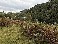 Glen Strathfarrar. View of the dam
