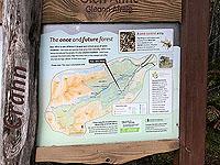 Plodda falls. Information sign 2