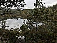 Coire an Loch loop. Beside Loch Coire
