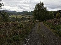 Coire an Loch loop. Final descent before the climb