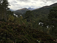 Coire an Loch loop. From view point