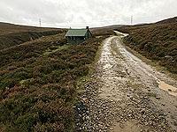Craig Hill loop. Gamekeepers hut