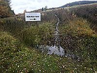 Craig Hill loop. Hope Rob Roy had Gortex trail shoes