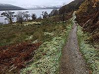 Rowerdennan to Loch Arklet. Looking north