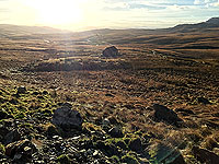 To Carn Labhruinn. Looking back