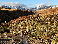 To Carn Labhruinn. The view for the route back
