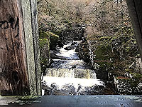 To Carn Labhruinn. Falls from the bridge number 2