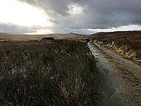 To Carn Labhruinn. The route ahead
