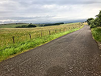 Sheriffmuir loop. Road away from the monument