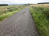 Sheriffmuir loop. Farm in the distance