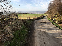 Sheriffmuir loop. The road just travelled