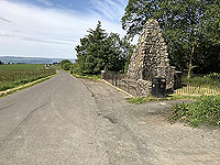 Sheriffmuir loop. The monument