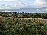 Small 3 Lochs loop. Looking at the River Clyde and Ardmore point