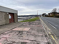 Small 3 Lochs loop. Pavement from Kidston park and water treatment plant